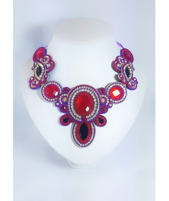 Collar Purplered