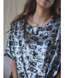ANIMAL PRINT PARTY TOP