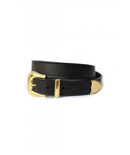 Presley Black Opaque Gold